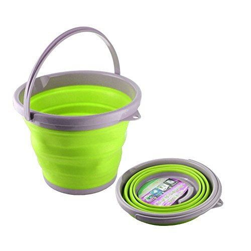 5L Thickening Folding Portable Silica Gel Bucket For Garden Outdoor Camping Fishing Hiking Car Washing